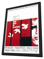 Birdman of Alcatraz - 27 x 40 Movie Poster - Style A - in Deluxe Wood Frame