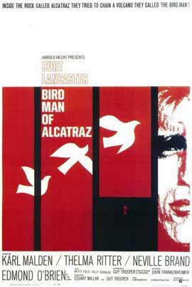 Birdman of Alcatraz - 11 x 17 Movie Poster - Style A