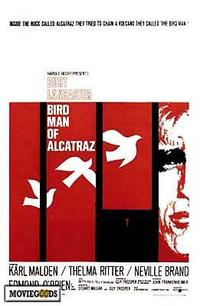 Birdman of Alcatraz - 43 x 62 Movie Poster - Bus Shelter Style A