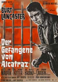 Birdman of Alcatraz - 27 x 40 Movie Poster - German Style A