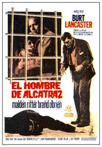 Birdman of Alcatraz - 27 x 40 Movie Poster - Spanish Style A