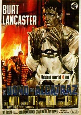 Birdman of Alcatraz - 11 x 17 Movie Poster - Italian Style A