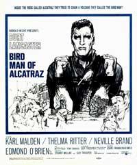 Birdman of Alcatraz - 30 x 30 Movie Poster - Style B