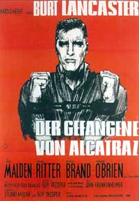 Birdman of Alcatraz - 11 x 17 Movie Poster - German Style B