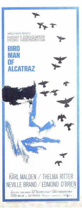 Birdman of Alcatraz - 14 x 36 Movie Poster - Insert Style A