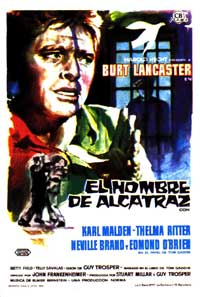 Birdman of Alcatraz - 11 x 17 Movie Poster - Spanish Style B