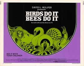 Birds Do It, Bees Do It - 11 x 14 Movie Poster - Style A
