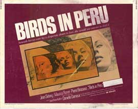 Birds in Peru - 11 x 14 Movie Poster - Style G