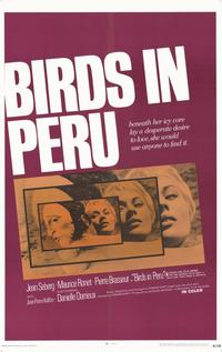 Birds in Peru - 11 x 17 Movie Poster - Style A