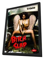 Bitch Slap - 27 x 40 Movie Poster - Style G - in Deluxe Wood Frame