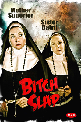 Bitch Slap - 43 x 62 Movie Poster - Bus Shelter Style D