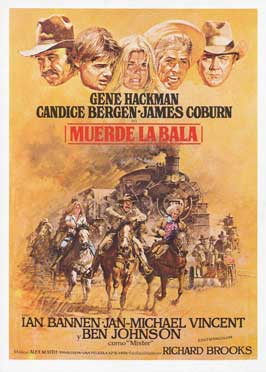 Bite the Bullet - 43 x 62 Movie Poster - Spanish Style A