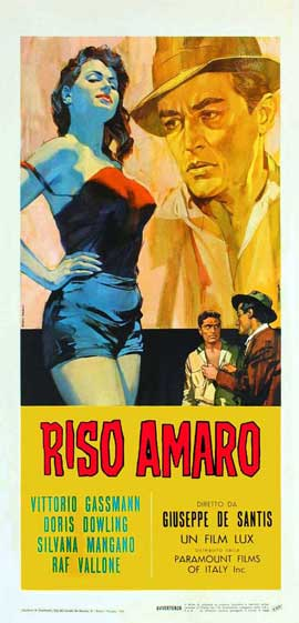 Bitter Rice - 13 x 28 Movie Poster - Italian Style A