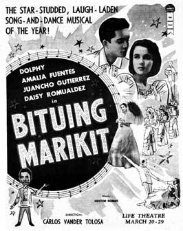 Bituing marikit - 11 x 17 Movie Poster - Spanish Style A