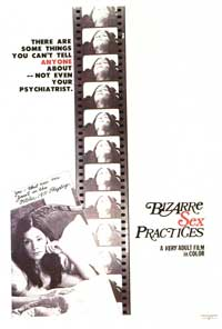 Bizarre Sex Practices - 11 x 17 Movie Poster - Style A