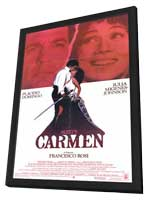Bizet's Carmen - 11 x 17 Movie Poster - Style A - in Deluxe Wood Frame