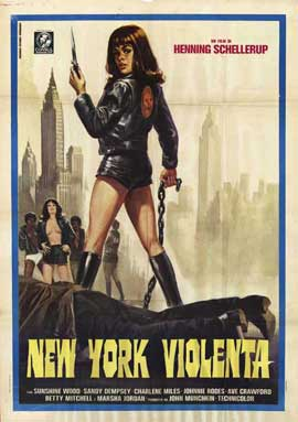 Black Alley Cats - 11 x 17 Movie Poster - Italian Style A