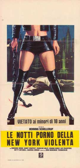 Black Alley Cats - 13 x 28 Movie Poster - Italian Style A