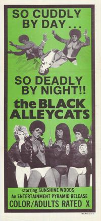 Black Alley Cats - 11 x 17 Movie Poster - Australian Style A