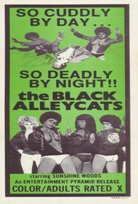 Black Alley Cats - 27 x 40 Movie Poster - Australian Style A