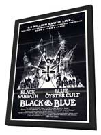 Black and Blue - 11 x 17 Movie Poster - Style A - in Deluxe Wood Frame