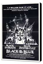 Black and Blue - 27 x 40 Movie Poster - Style A - Museum Wrapped Canvas