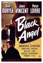Black Angel - 11 x 17 Movie Poster - Spanish Style A