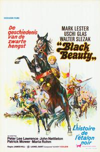Black Beauty - 11 x 17 Movie Poster - Belgian Style A