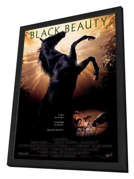 Black Beauty - 27 x 40 Movie Poster - Style A - in Deluxe Wood Frame