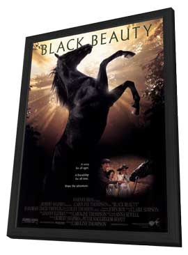 Black Beauty - 11 x 17 Movie Poster - Style A - in Deluxe Wood Frame