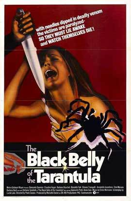 Black Belly of the Tarantula - 11 x 17 Movie Poster - Style B