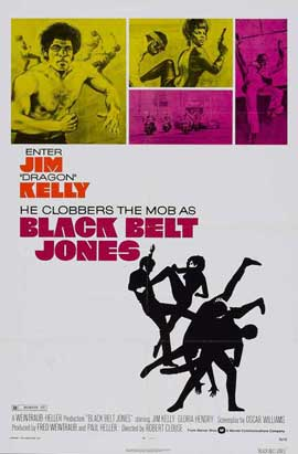 Black Belt Jones - 11 x 17 Movie Poster - Style B