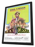 Black Caesar - 27 x 40 Movie Poster - Style A - in Deluxe Wood Frame