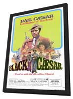 Black Caesar - 11 x 17 Movie Poster - Style A - in Deluxe Wood Frame