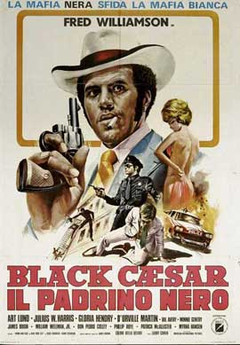 Black Caesar - 27 x 40 Movie Poster - Italian Style A