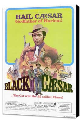 Black Caesar - 27 x 40 Movie Poster - Style A - Museum Wrapped Canvas