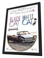 Black Cat, White Cat - 27 x 40 Movie Poster - Style A - in Deluxe Wood Frame