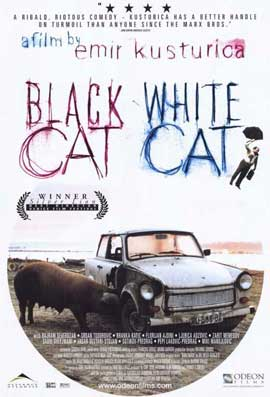 Black Cat, White Cat - 11 x 17 Movie Poster - Style A