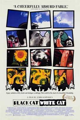 Black Cat, White Cat - 11 x 17 Movie Poster - Style B