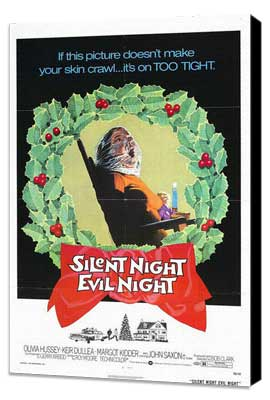 Black Christmas - 27 x 40 Movie Poster - Style B - Museum Wrapped Canvas
