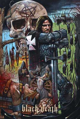 Black Death - 11 x 17 Movie Poster - UK Style C