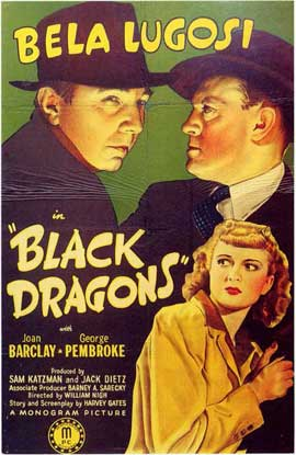 The Black Dragons - 11 x 17 Movie Poster - Style B