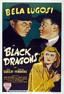 The Black Dragons - 27 x 40 Movie Poster - Style B