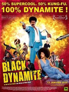 Black Dynamite - 11 x 17 Movie Poster - French Style A