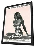 Black Emanuelle - 27 x 40 Movie Poster - Style A - in Deluxe Wood Frame
