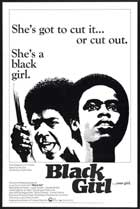 Black Girl - 11 x 17 Movie Poster - Style B