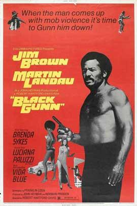 Black Gunn - 11 x 17 Movie Poster - Style A