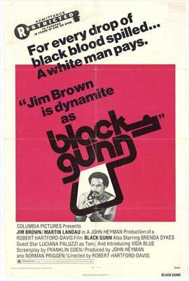 Black Gunn - 11 x 17 Movie Poster - Style D