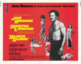 Black Gunn - 22 x 28 Movie Poster - Half Sheet Style A