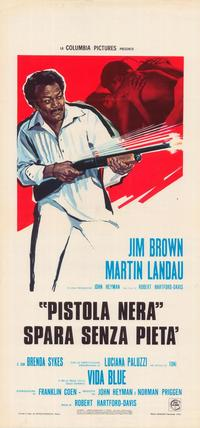 Black Gunn - 11 x 17 Movie Poster - Italian Style A